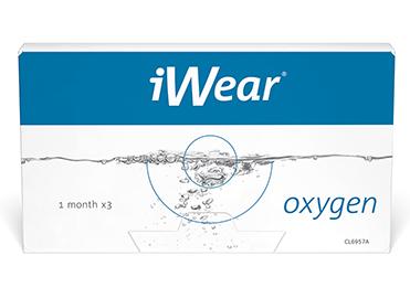 iWear lenses oxygen 3pk