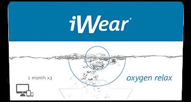 iwear lenses oxygen listing